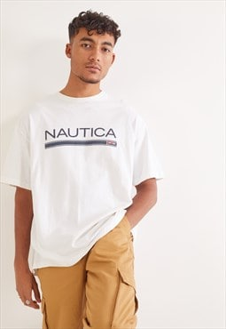 Vintage Nautica T-Shirt White