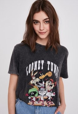 Looney Tunes printed t-shirt - black
