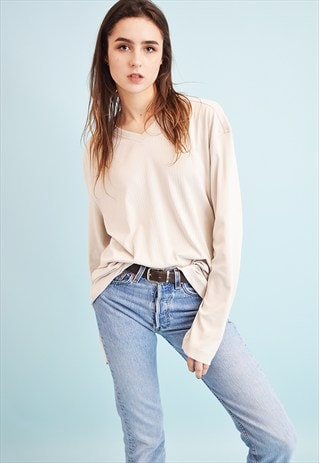 90'S RETRO NORMCORE OVERSIZED DADS JUMPER TOP