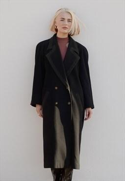 Vintage Mansfield Overcoat in Black - size 12