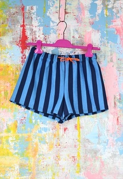 Shorts in blue stripe
