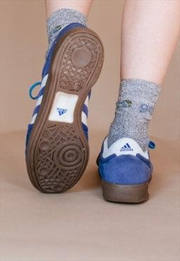 Vintage blue suede spezial trainers