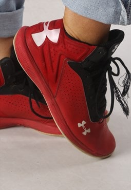 Under Armour Hi Tops trainers  UK 6, US 7Y (HHBF)