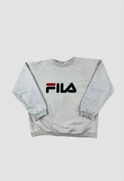 Fila Spellout Vintage Sweatshirt
