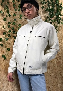 Vintage Cream Helly Hansen Utility Jacket