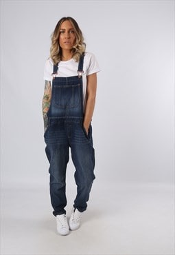 Denim Dungarees Vintage Slim fit UK 18 (G3DL)