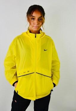 Vintage Nike Waterproof Yellow Mac Coat