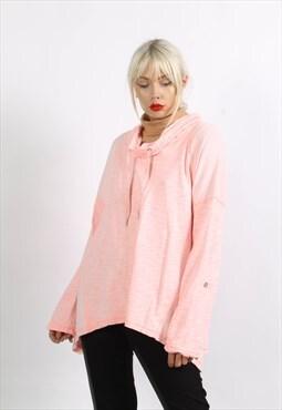 Vintage Calvin Klein Oversize Hoodie Pink