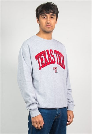 90'S SWEATSHIRT USA TEXAS TECH UNIVERSITY