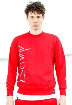 Rumble Sweater - Red