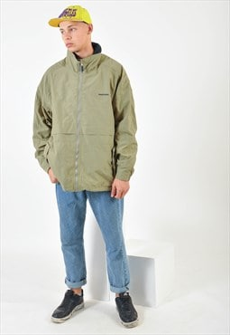 Vintage shell jacket in green