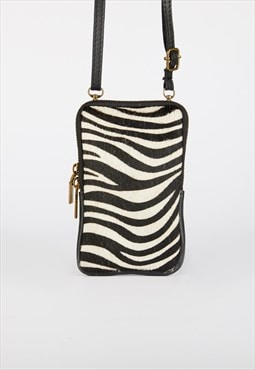 Zebra Print Phone Case Animal Print Phone Case Strap