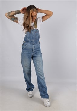 Vintage LEE Denim Dungarees BICH REWORKED UK 6 - 8 (A5B)