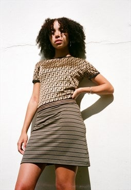 Vintage Fendi Stretchy Skirt