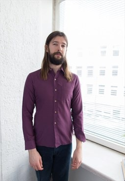 Vintage 70's Purple Shirt
