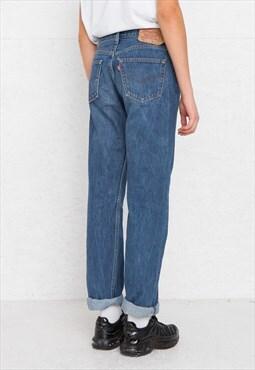 Vintage Blue LEVI'S 501 Fit Denim Jeans