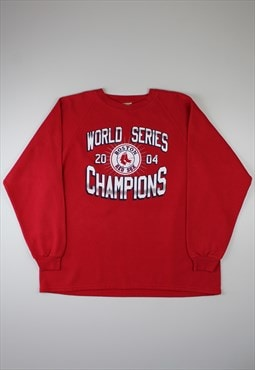 Lee 'Boston Red Sox' Red Sweatshirt