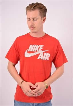 Vintage Nike T-Shirt Top Red