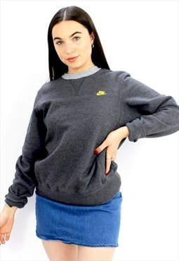 90's Retro Grey Sweatshirt