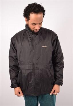 Vintage Ellesse Windbreaker Jacket Black