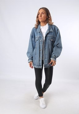 Denim Jacket JEANAGERS Oversized Fitted UK 20 - 22 (EEAK)
