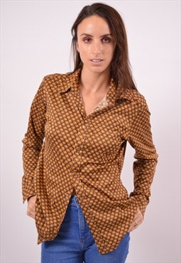 Vintage Replay Shirt Brown