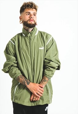Vintage 80s Puma Windbreaker Jacket / S3961