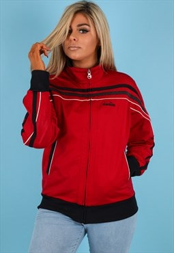 Vintage Diadora Jacket in Red NJ517