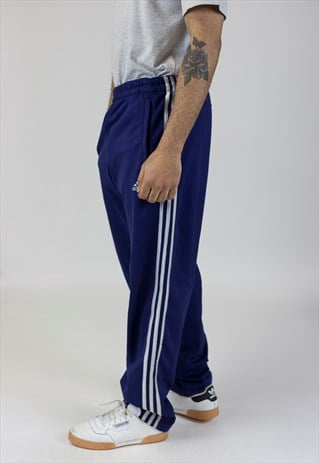 VINTAGE ADIDAS NAVY TRACKSUIT BOTTOMS