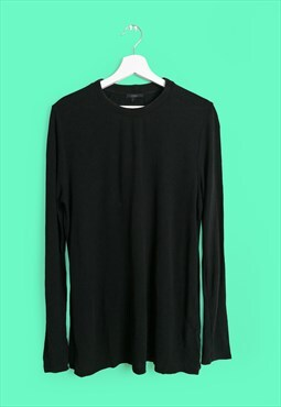 Vintage 90's COS Long Sleeve Top in Black