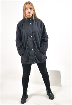 Vintage parka jacket in black