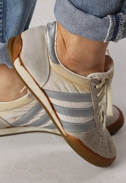 Adidas Indoor Pro Badmington trainers 1985 UK 7 RARE (GB4J)