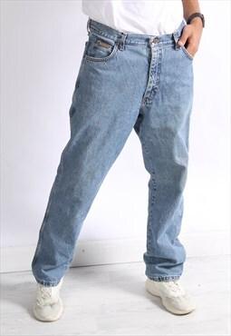 Vintage Wrangler Straight Leg Jeans Blue