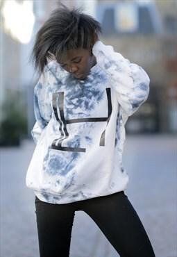 HALLEY White Unisex Sweatshirt