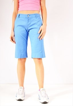 Vintage Dickies Slim Fit Chino Shorts Sky Blue