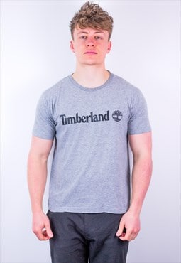 Vintage Timberland T-Shirt in Grey
