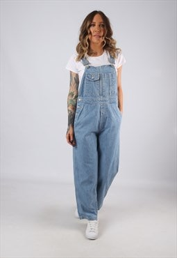 Denim Dungarees GAP Wide Leg Vintage UK 8 (BJ4K)