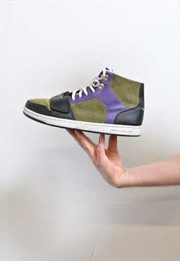 Vintage Green Creative Recreation Hi-Top Trainers
