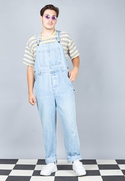Vintage Oversized Denim Dungarees