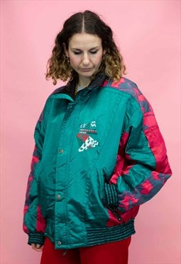 Head Vintage Ski Jacket in Green
