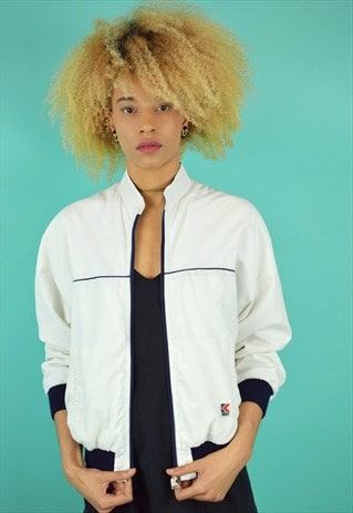 VINTAGE 90'S K-WAY BOMBER JACKET