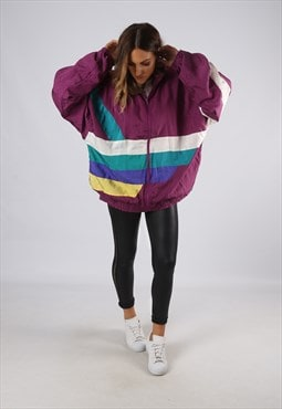 Vintage Shell Suit Top Jacket Oversized Bomber 3XL (EDA)