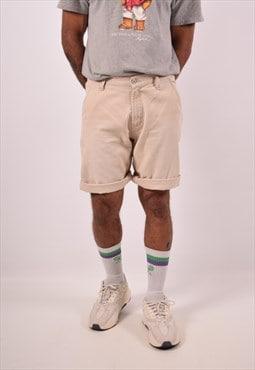Vintage Levi's Denim Shorts Beige