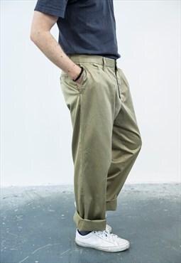 Dockers Vintage 1980s Beige Trousers