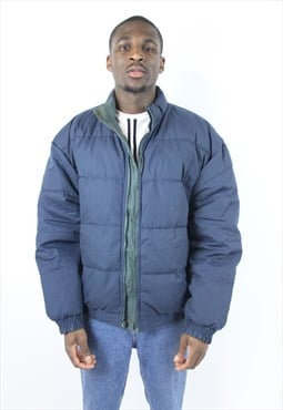Vintage Reversible 90's Navy/Green Padded Jacket