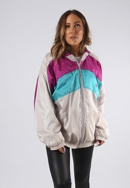 Vintage PUMA Shell Suit Top Jacket Oversized Bomber  (EDB)