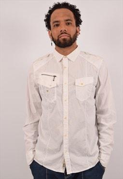 Vintage Diesel Shirt White