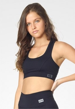 Sports Top Bra Yourself Fitness & Yoga Gym Black