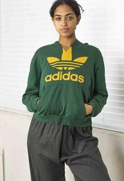 Vintage Adidas Hoodie Sweatshirt Logo 90s X 18.4