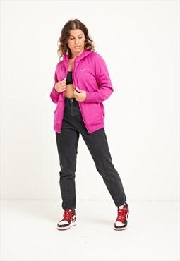 Nike Hoodie Pink Small